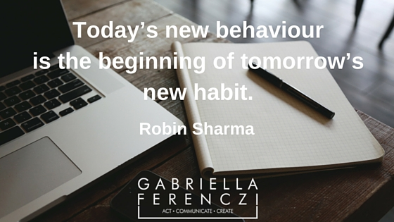 Behaviour and habit
